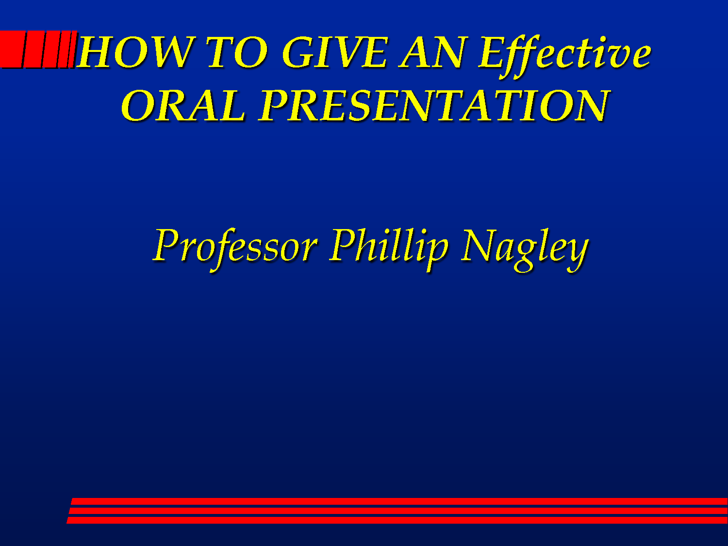 Steps to make A highly effective PowerPoint Demonstration -- Helpful Ideas